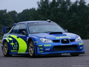Subaru Impreza - Samochód osobowy klasy kompaktowej produkowany przez japońską markę Subaru od 1993 roku jako nas
