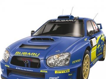 Subaru Impreza wrx - Samochód osobowy klasy kompaktowej produkowany przez japońską markę Subaru od 1993 roku jako nas