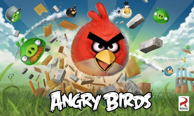 Angry Birds - Gracze przejmują kontrolę nad stadem ptaków próbujących odzyskać jajka, które zostały im ukradzione przez złe zielone świnie. Na każdym poziomie świnie są osłonięte konstrukcjami utworz (5×3)