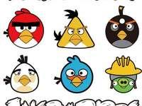Păsări mânioase - Angry Birds - o serie de jocuri pe calculator lansate în decembrie 2009 de Rovio Mobile, în care j