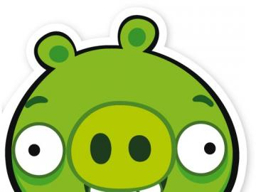 Pig from Angry Birds - Angry Birds - a series of computer games launched in December 2009 by Rovio Mobile, in which players