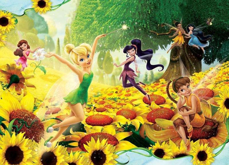 Bell et les fées - Bell et les fées. À Elf Landing, il y a des fées observant la nature, chacune ayant son propre talent. Parmi eux est connu de l'histoire de Pierre, le Seigneur - Dzwoneczek (5×4)