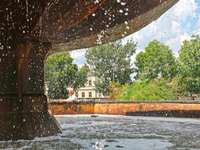 Ciechocinek fountain - Ciechocinek is a small town located in the province. Kuyavian-Pomeranian, on the so-called White Kuj