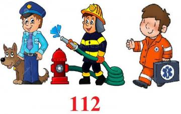 112 (12 items) - puzzle - guard, police, paramedic, 112