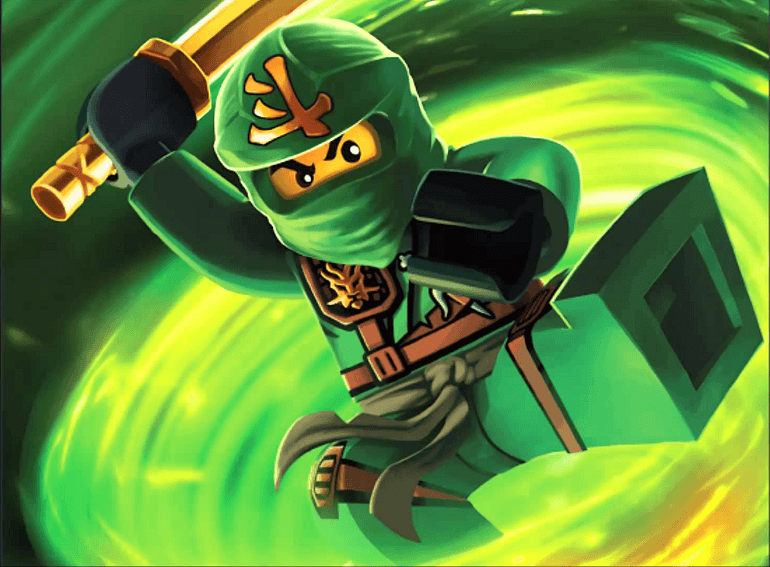 Ninjago film - Ninjago: Masters of Spinjitzu (Lego Ninjago: Masters of Spinjitzu) - amerikai-dán animációs sorozat, amelyet ugyanazon címmel készített játék-sorozat alapján készítettek, japán folklór ih (19×14)