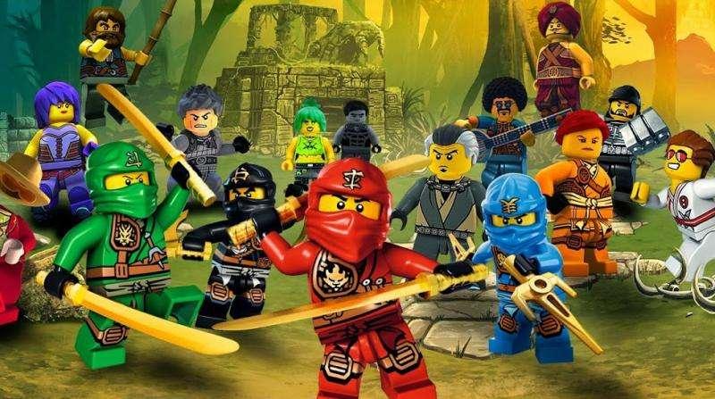Ninjago Film - Ninjago: Spinjitzu Masters (Lego Ninjago: Meister von Spinjitzu) - amerikanisch-daenische Zeichentrickserie, die auf der Grundlage einer gleichnamigen Spielzeugserie erstellt wurde, die von der japani (19×11)