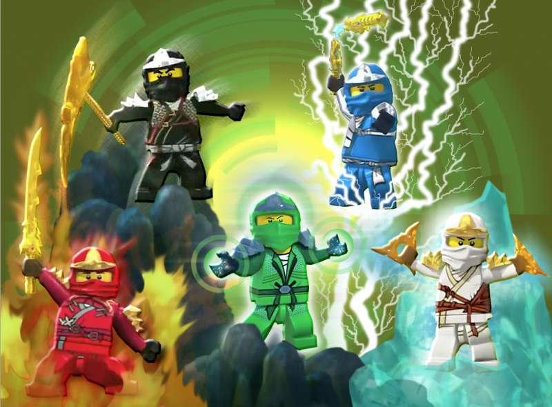 Ninjago movie - Ninjago: Spinjitzu Masters (Lego Ninjago: Masters of Spinjitzu) - American-Danish animated series created on the basis of a series of toys of the same title, inspired by Japanese folklore. The world p (5×5)