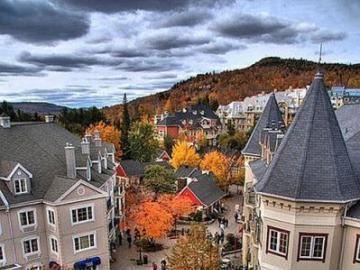 Die kanadische Stadt Quebec - Die kanadische Stadt Quebec