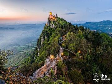 San Marino Italy - San Marino Italy mountain