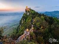 San Marino Italien - San Marino Italien berg