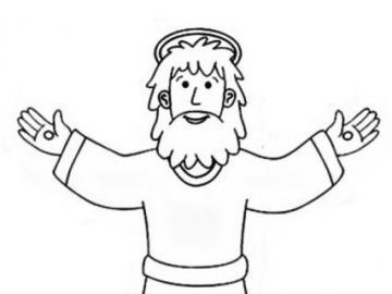 stella p - Immagine di Gesù puzzle