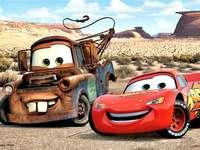 deux coureurs - la course des voitures rapides