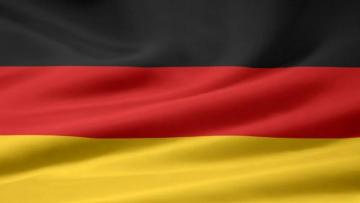 My German flag where it is - A bomb hit the cottage, she smashed half of the German cottage, he thought it was lard and he put hi