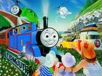 Tomek and friends 1 - colorful train, children
