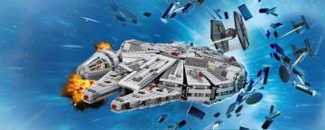 star wars lego - millenium falcon cool puzzle for laying