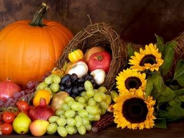 Guten Appetit - Gemuese und Obst sind sehr gesund