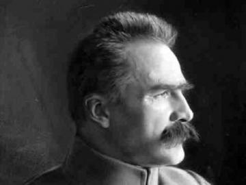 Pilsudski - Portrait de Piłsudski