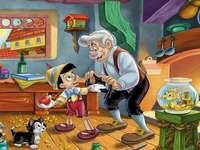 Pinokio 2 - Pinocho en el estudio Gepetta
