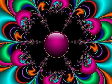 Grafică de flori simetrică - Grafică de flori simetrică