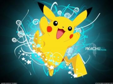 Pikachu and pals - This is a picachu, he has sweet eyes and a nice noisek