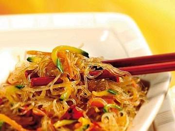 Spaghetti - spaghetti piatto cinese