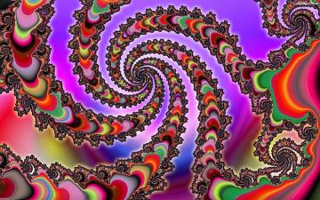 Fractals, colorful spirals - Fractals, colorful spirals