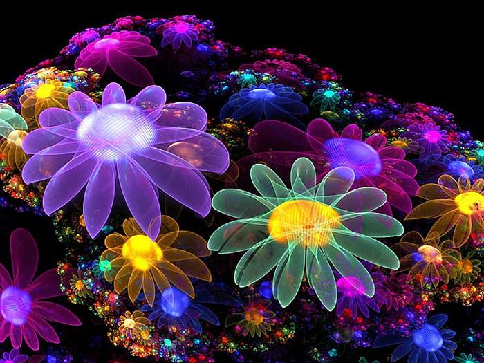 Composición floral colorida rompecabezas