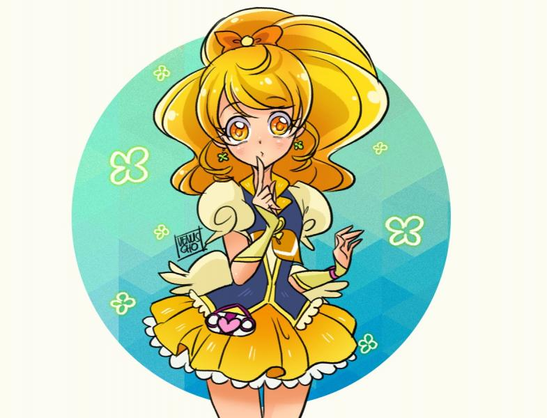 Cure Honey - happiness charge precure cure honey (10×10)