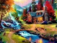 pittura puzzle