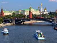 Egy darab Oroszországból - színes puzzle