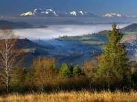 Polské hory - Krásný výhled na polské hory