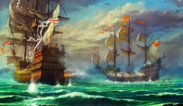 Sailing - colorful puzzle jigsaw