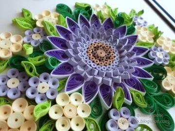 Colorful flower rosette - Colorful flower rosette