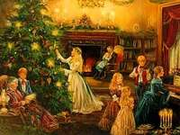 Familie zu Weihnachten - Familie zu Weihnachten