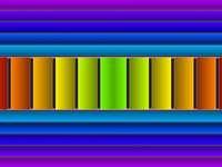 Quebra-cabeça colorido - quebra-cabeça complicado