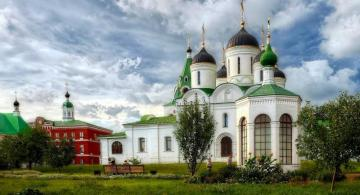 Orthodox climates - colorful church buildings