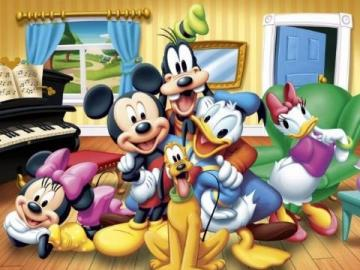 Mickey Mouse - something nice and cool.