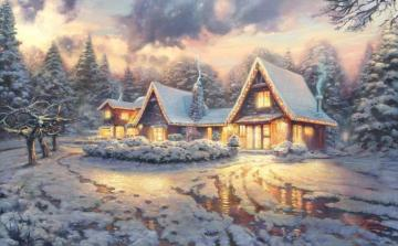 Winter - Winter, holiday homes, snow :)