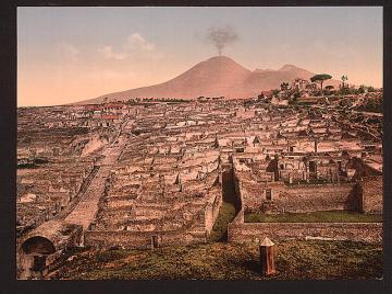 Eruption of Vesuvius - New Generation school-work alternation