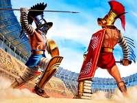 Αρχαίοι μονομάχοι