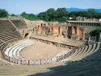 Αρχαίο θέατρο της Πομπηίας