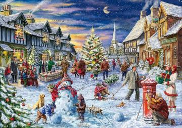A holiday in the town - Festive in the town