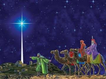 The first Bethlehem star - The first Bethlehem star