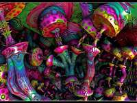 Puzzle psihedelic - Puzzle psihedelic