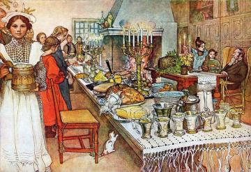 Christmas Eve in a noble house - Christmas Eve in a noble house