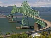 Paesaggio con un ponte