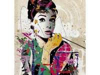 Herečka Audrey Hepburn - Herečka Audrey Hepburn