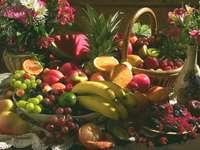 Kompozycja owocowa - kolorowa kompozycja owocowa