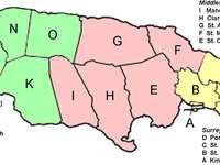 Grafschaften und Pfarreien