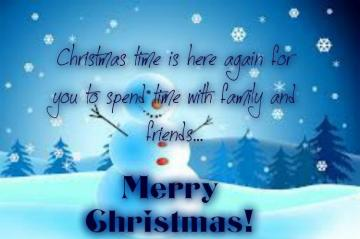 CHRISTMAS CARD - Christmas wishes for eTwinning Friends